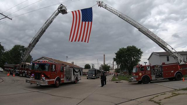 Funeral Procession for Fire Chief Todd Werner