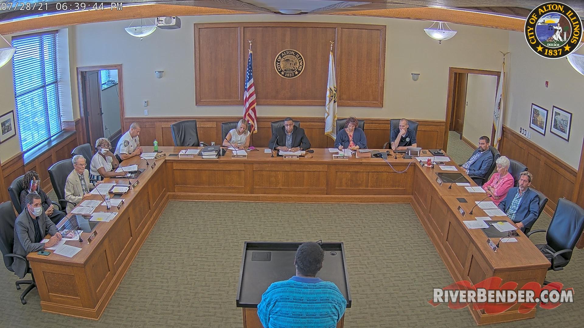 Alton City Council Meeting 7-28-2021