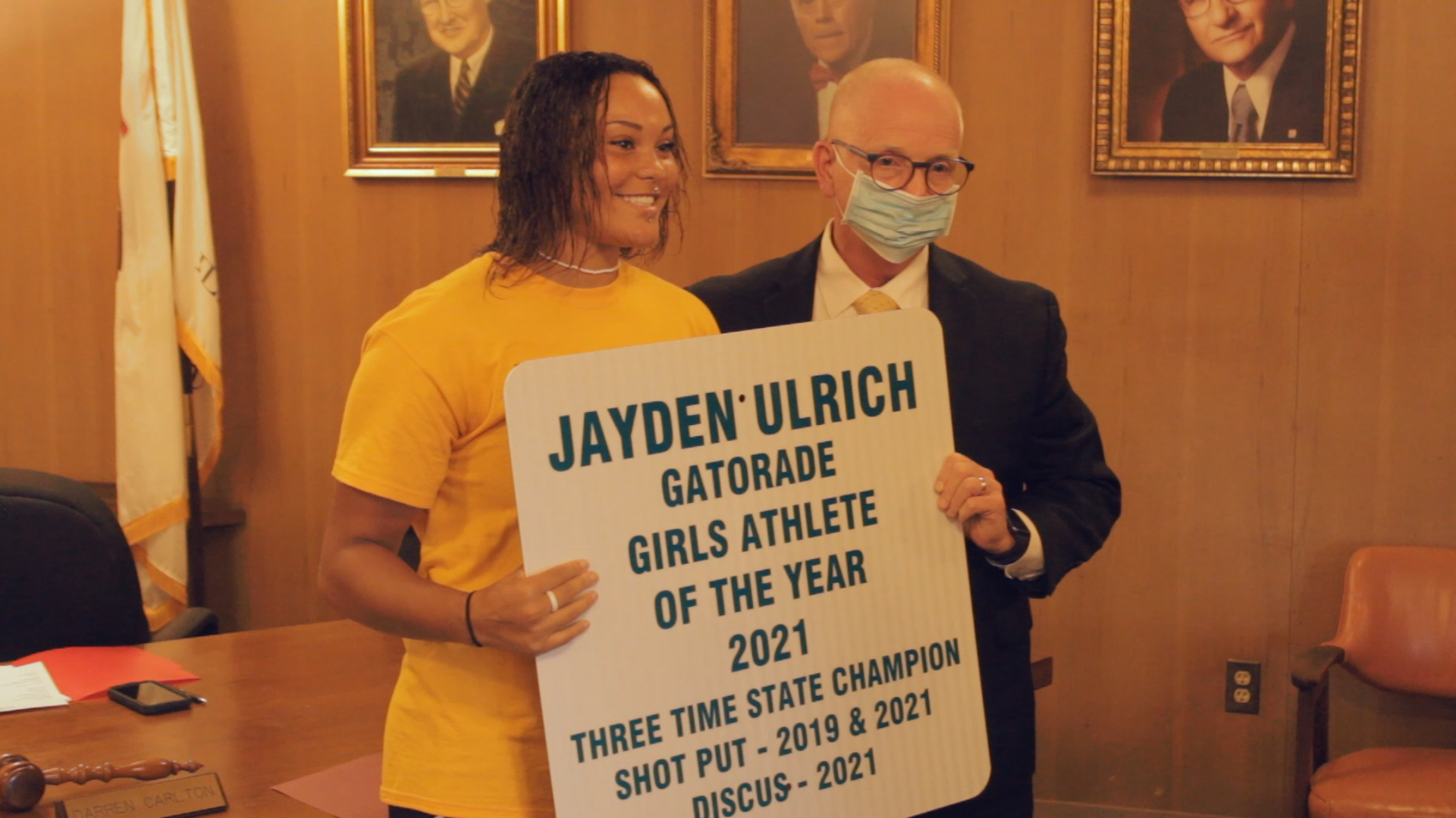 The Village of East Alton Honors Jayden Ulrich