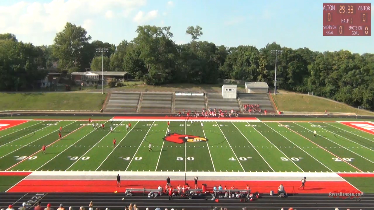 Alton High School's Red and Gray Soccer Scrimmage 2021