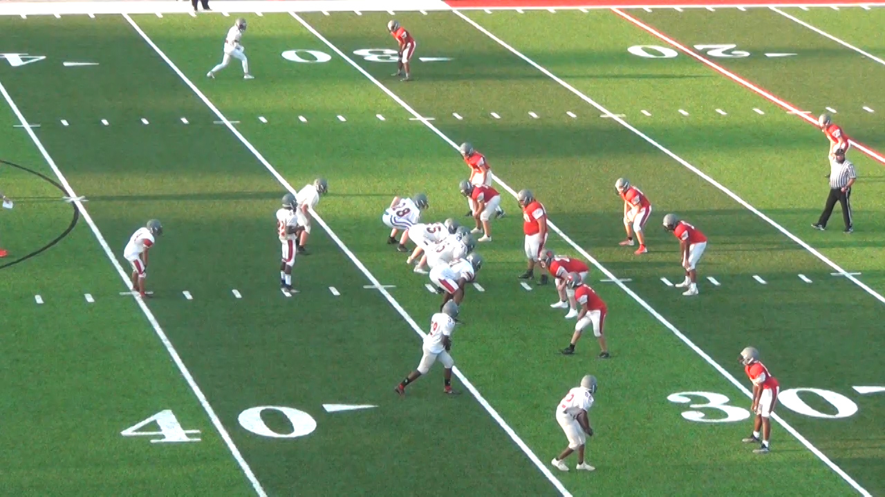Alton High School's Red and Gray Football Scrimmage 2021