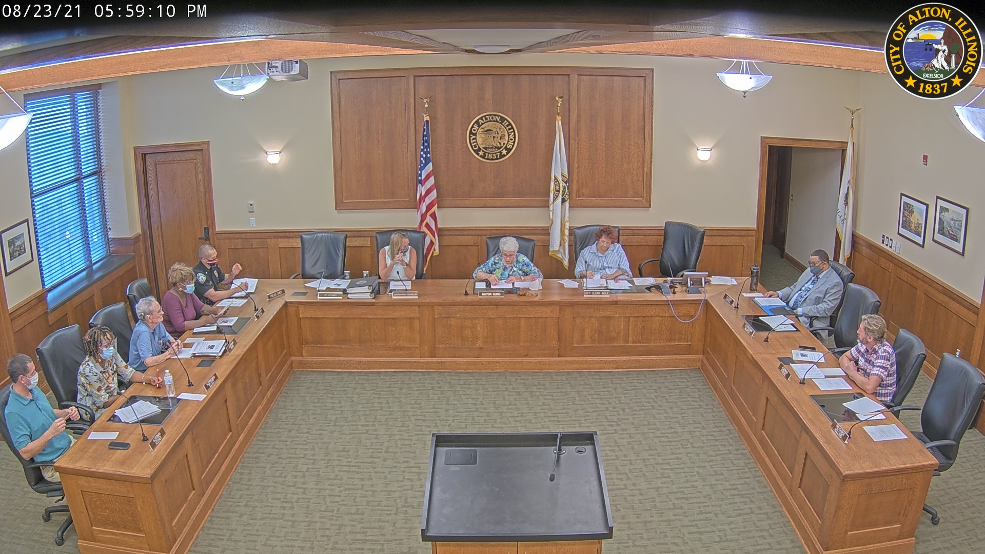 City of Alton - Committee of the Whole Meeting August 23rd, 2021