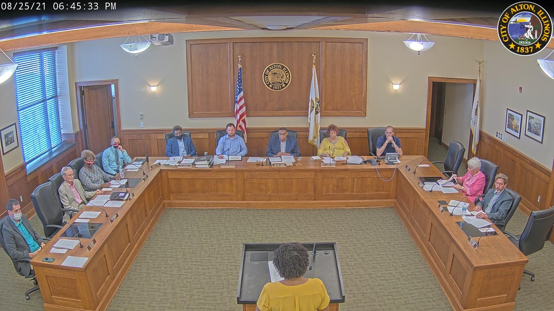 Alton City Council Meeting 8-25-2021
