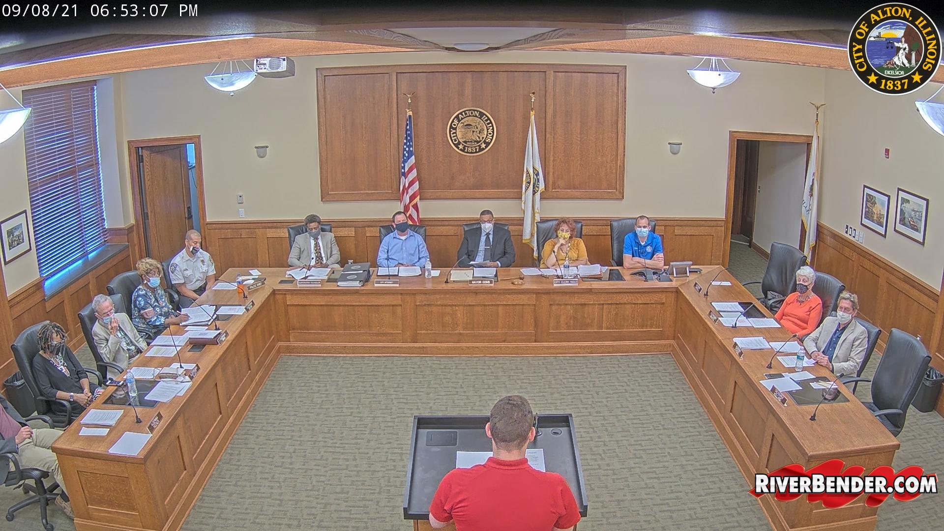 Alton City Council Meeting 9-8-2021