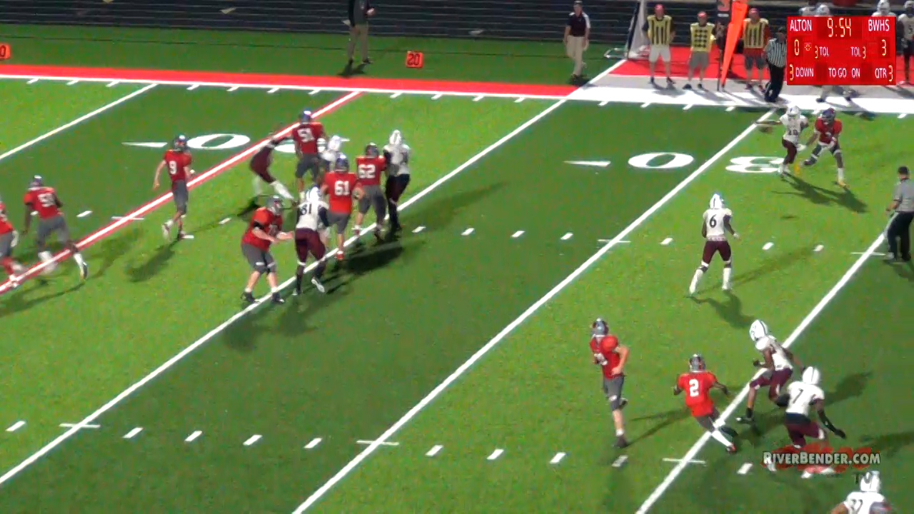 Belleville West at Alton Play of the Game 9-17-21