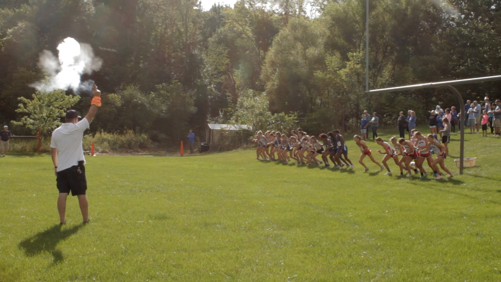 AHS Holds Inaugural Meet for Cross Country Course