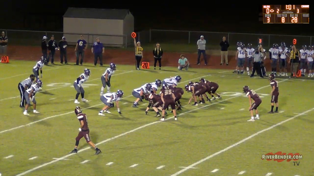 Breese Central at East Alton - Wood River Football 9-24-21