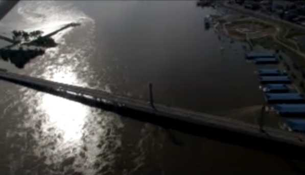 Aerial Video of Flood