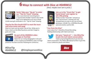 Ways to Connect at #SHRM12