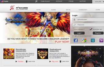 Buy League of Angels (R2Games) game codes, cards and Diamonds