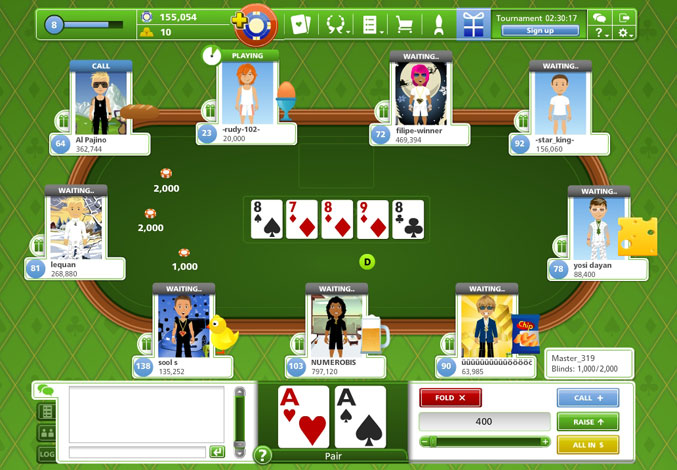 Goodgame Poker game codes and game cards