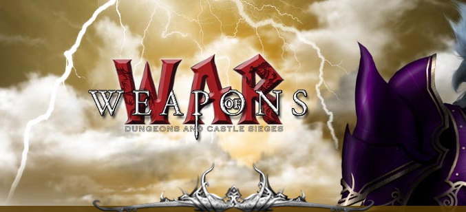 Weapons of War game codes and game cards