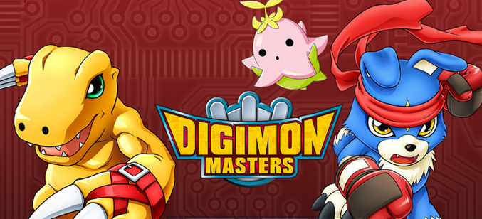 Digimon Masters game codes and game cards