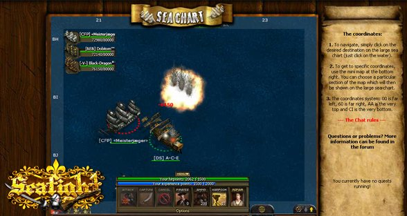 Seafight at gPotato game codes and game cards