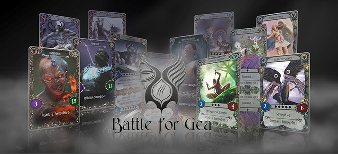 Battle for Gea game codes and game cards
