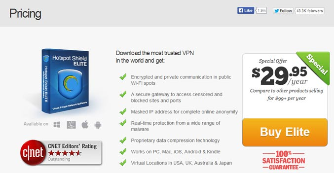 Buy Hotspot Shield game codes and cards