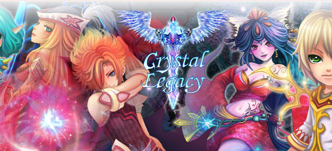 Crystal Legacy game codes and game cards