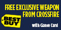 Rixty Game Card gives FREE Exclusive Weapon from CrossFire at Best Buy game codes and game cards