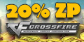 Get up to 20% bonus ZP when you buy any ZP package on CrossFire game codes and game cards