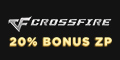 Get a 20% Bonus in ZP purchase at CrossFire NA! game codes and game cards