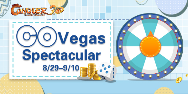 Conquer Online Vegas Spectacular game codes and game cards