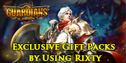 Get a FREE exclusive Pack for Guardian game codes and game cards