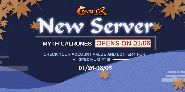 CO New Server Mystic