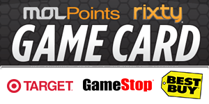 MOLPoints Rixty Game Card