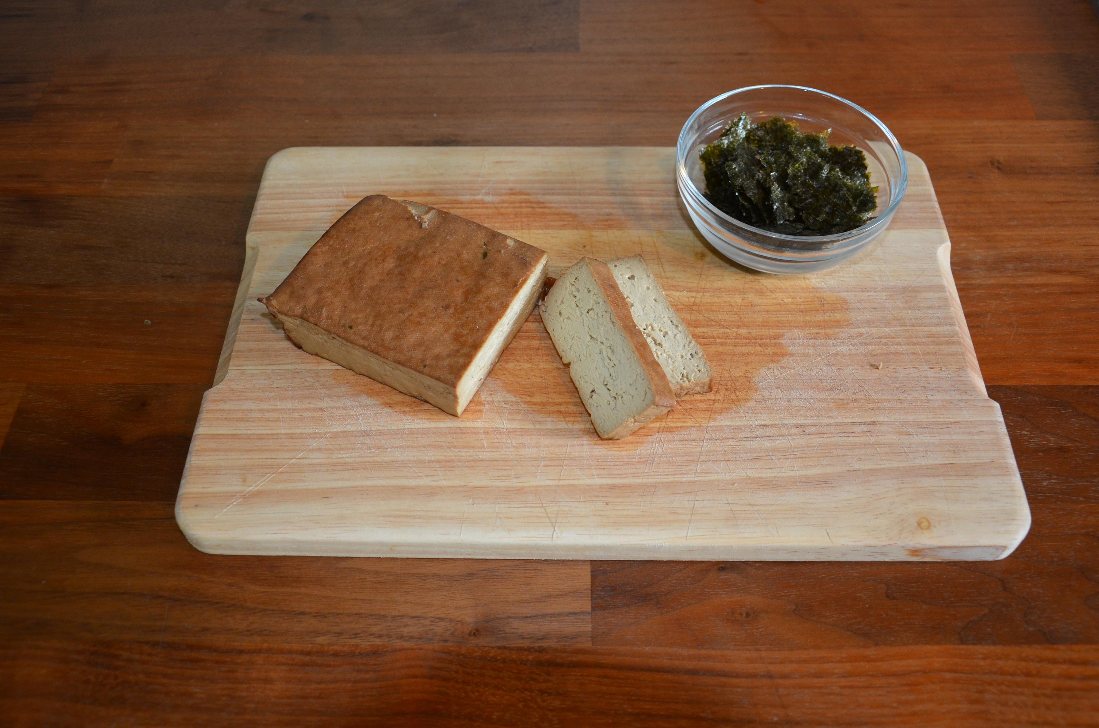 Tofu-Algen-Aufstrich