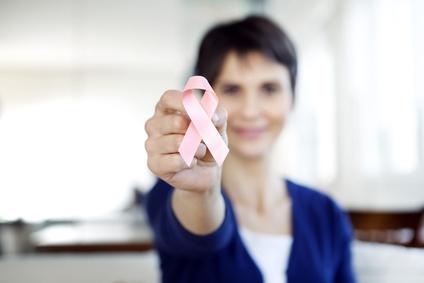 Brustkrebs rosa Schleifchen
