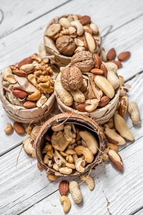 Vitamin E Nüsse und Saaten