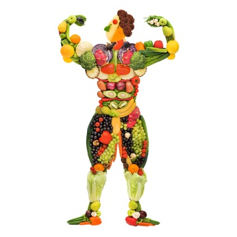 gesunder Muskelaufbau