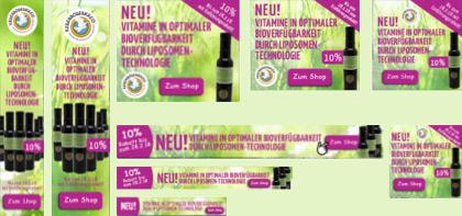 Partnerbanner liposomale Produkte