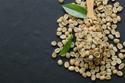Grüner Kaffee Bohnen