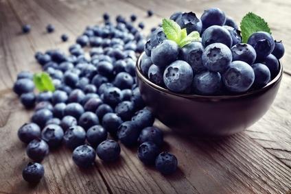 Vegane Ernährung, Krebs, Blaubeeren