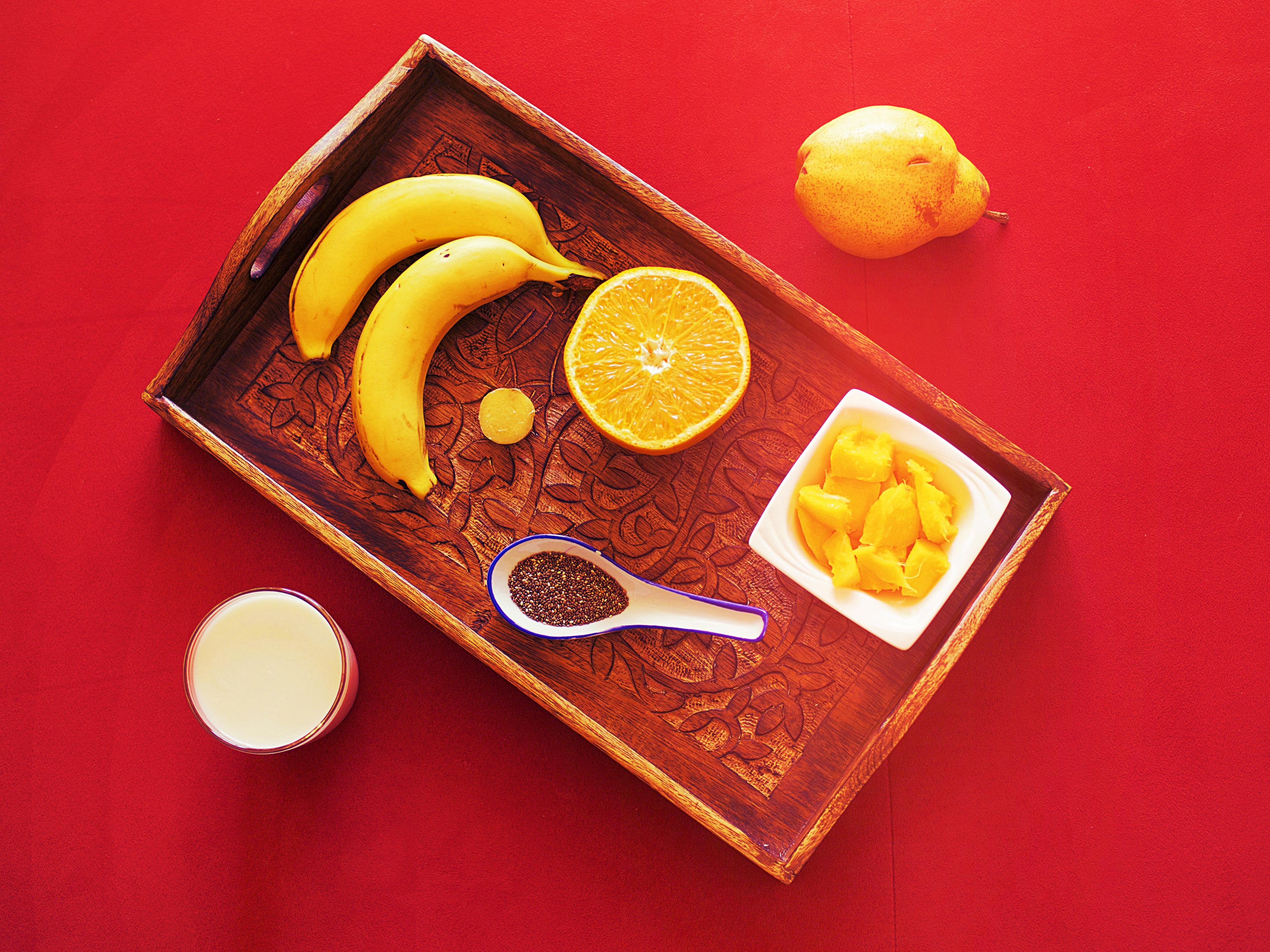 Früchte Smoothie mit Chiasamen