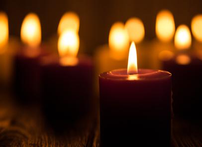 ökologische Beleuchtung, Kerzenlicht