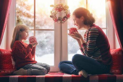 Weihnacht in der Familie