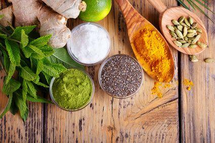Antioxidantien in Kräutern und Gewürzen