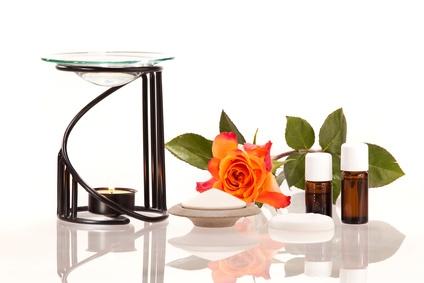 Ätherische Öle - Duftlampe