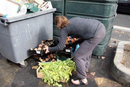 Lebensmittel containern