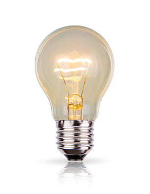 ökologische Beleuchtung, Glühlampe