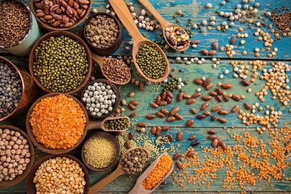 Veganes Eiweiß, Hülsenfrüchte