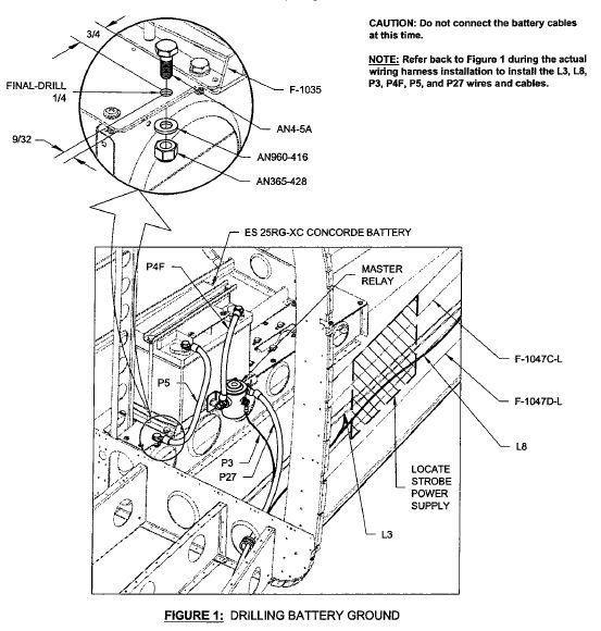 wire size  u0026 battery ground postion