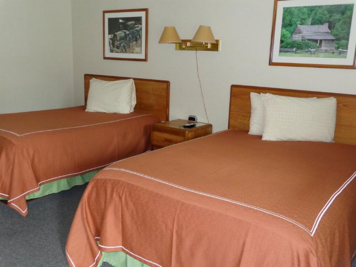 A Holiday Motel: Two Double Beds