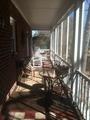 Inside side porch