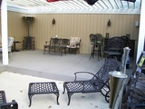 Outdoor patio party