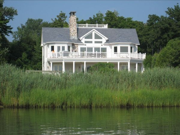 The Shinnecock Waterfront house