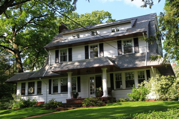 Classic Center Hall Dutch Colonial