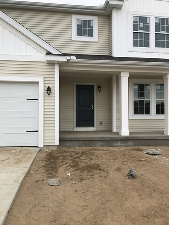 new construction, local firefighter home